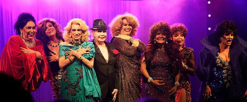 Artistas retratadas no documentário Divinas Divas/ Fonte: Divinas Divas