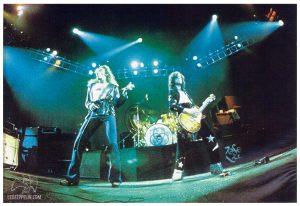 Apresentação da banda em NY em 1975. Fonte: Ledzeppelin.com